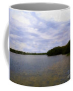 Sunset River Coffee Mug