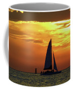 Sunset Sail Away Coffee Mug
