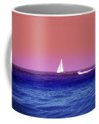Sunset Sailboat Coffee Mug