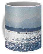 Sunset Sailboats  Coffee Mug