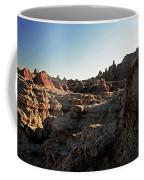 Sunset Shadows In The Badlands Coffee Mug