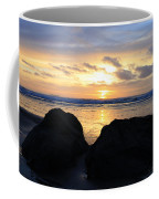Sunset Silhouettes Coffee Mug