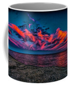 Sunset Sky At East Point Coffee Mug
