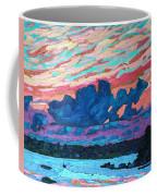 Sunset Snails Coffee Mug