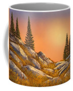 Sunset Spruces Coffee Mug