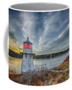 Sunset, Squirrel Point Lighthouse Coffee Mug