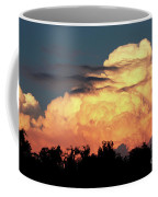 Sunset Storm Clouds Over The Marsh Coffee Mug