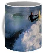 Sunset Surfing Coffee Mug