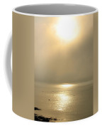 Sunset Through Fog Coffee Mug