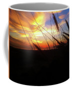 Sunset Through The Sea Grass Coffee Mug