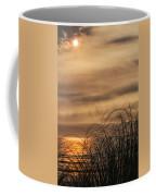 Sunset Through The Seagrass Coffee Mug
