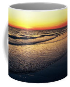 Sunset Time On Sunset Beach Coffee Mug