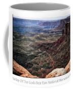 Sunset Tour Valley Of The Gods Utah Text 04 Coffee Mug