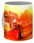 Sunset Tractor Pull Coffee Mug
