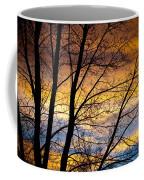 Sunset Tree Silhouette Coffee Mug