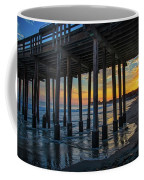 Sunset Under The Ventura Pier Coffee Mug