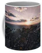 Sunset Valley Of The Gods Utah 01 B Coffee Mug