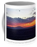 Sunset Valley Of The Gods Utah 05 Text Coffee Mug