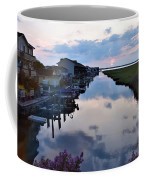 Sunset View At The Art League Of Ocean City - Maryland Coffee Mug