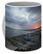 Sunset View From Sandy Neck Light Coffee Mug