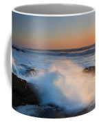 Sunset Wave Explosion Coffee Mug