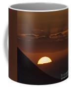 Sunset With Green Ray Phenomenon Coffee Mug