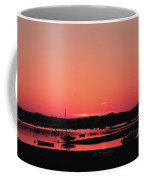 Sunset With Pink Afterglow Coffee Mug