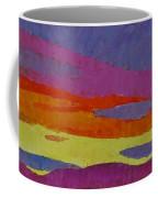 Sunset With Purple Clouds Coffee Mug