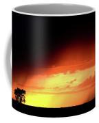 Sunset With Rain In Scenic Saskatchewan Coffee Mug