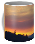 Sunset Yellow Orange Purple Sunset Giclee Art Prints Baslee Troutman Coffee Mug