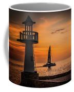 Sunsets And Sailboats Coffee Mug