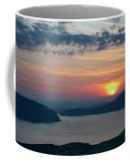 Sunsetting Over Portree, Isle Of Skye, Scotland. Coffee Mug