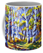 Sunshine And Birches Coffee Mug