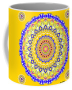 Sunshine And Blue Skies Mandala Coffee Mug