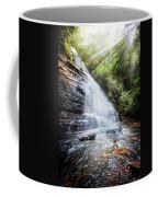 Sunshine At The Waterfall Coffee Mug