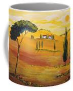 Sunshine In Tuscany In The Morning Coffee Mug