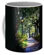 Sunshine On Savannah Sidewalk Coffee Mug