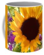 Sunshine Sunflower In The Garden Coffee Mug