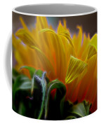 Sunshine Sunflower Petals Two Coffee Mug