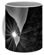 Sunstar At Tent Rocks Coffee Mug