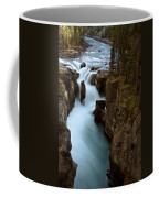 Sunwapta Falls In Jasper National Park Coffee Mug