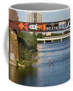 Sup Stand Up Paddle Board Couple Row Under The Focus One Point And Breathe Coffee Mug