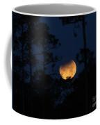 Super Blue Blood Moon Partial Eclipse Coffee Mug