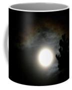 Super Moon Over British Columbia Coffee Mug