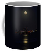 Super Moon Over San Diego 2 Coffee Mug