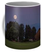 Super Moon Over Snohomish Coffee Mug