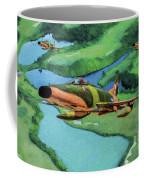 Super Sabres Over Vietnam - Oil Coffee Mug
