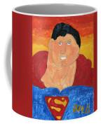 Superman Coffee Mug by Don Larison