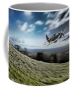 Supermarine Spitfire Fly Past Coffee Mug