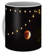 Supermoon And Twinkle Lights Coffee Mug
